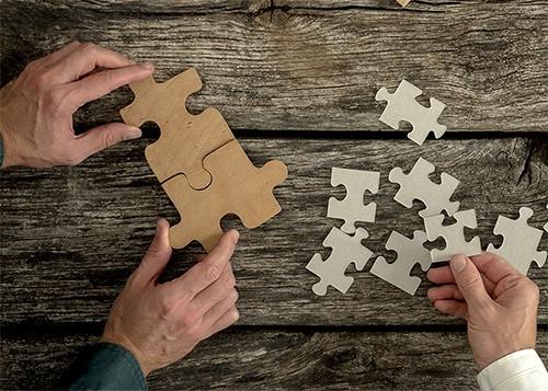 matchningsprocessen är viktig för oss i alla samarbeten